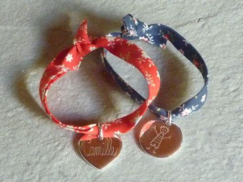 Bracelet liberty avec une médaille : 28.00 €