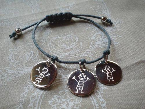 Bracelet argent lien : 75.00€
