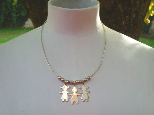 "Collier ""family"" : 116.00 €"