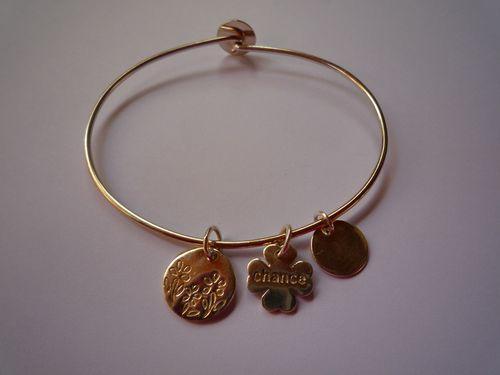 """Bracelet """"Chance"""" : 75.00 €"""